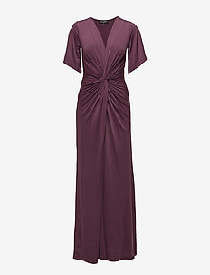 LONG DRESS - EGGPLANT