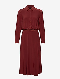 DRESS - BURNT HENNA