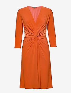DRESS - RED ORANGE