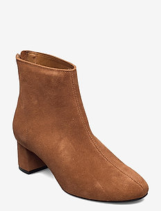 HIGH HEEL ANKLE BOOT - talon haut - burnt ochre