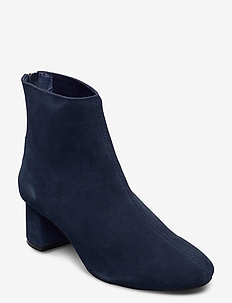 HIGH HEEL ANKLE BOOT - talon haut - dark indigo