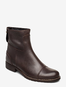 ANKLE BOOTS - talon bas - chocolate