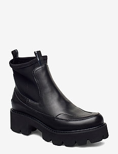 ANKLE BOOT - talon bas - black
