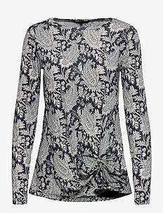 BLOUSE - blouses à manches longues - indigo