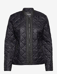 Light Quilt Jacket - forede jakker - black