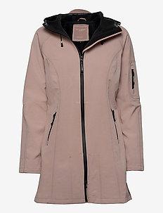 Rain - vêtements de pluie - adobe rose