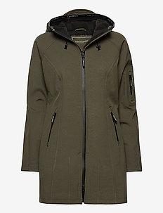 Rain - vêtements de pluie - army