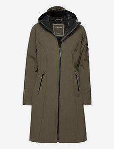 LONG RAINCOAT - manteaux de pluie - army