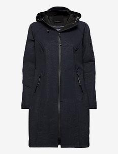 LONG RAINCOAT - vêtements de pluie - dark indigo