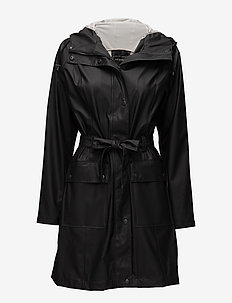 RAINCOAT - BLACK