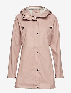 Raincoat - regntøj - adobe rose