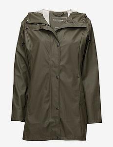 Raincoat - regenkleding - army