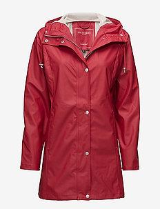 Raincoat - regntøj - deep red