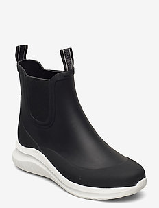 Short rubber boots - buty - black
