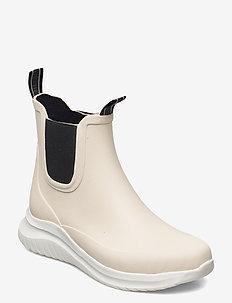 Short rubber boots - sko - milk creame