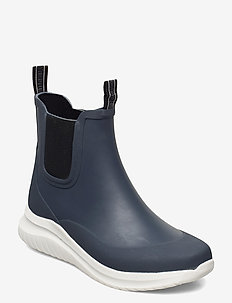 Short rubber boots - kalosze - orion blue