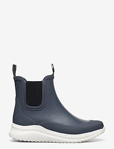 Short rubber boots - buty - orion blue
