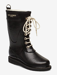 3/4 RUBBERBOOT - buty - black