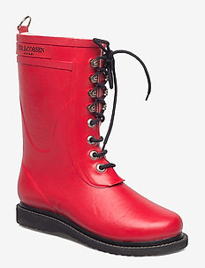 3/4 RUBBERBOOT - DEEP RED