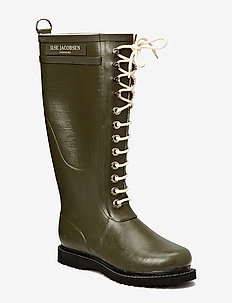 LONG RUBBERBOOT - army green