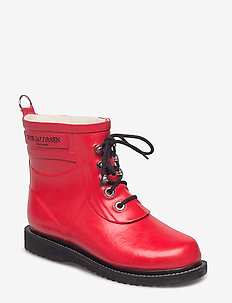 SHORT RUBBERBOOT - deep red