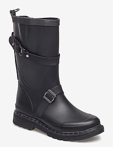 3/4 RUBBERBOOT - BLACK