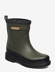 SHORT RUBBER BOOTS - ARMY
