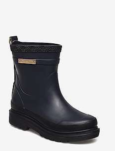 SHORT RUBBER BOOTS - DARK INDIGO