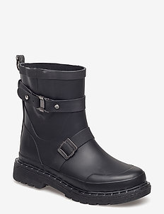 SHORT RUBBERBOOT - BLACK