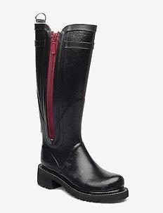 Rubber boots - bottes de pluie - black