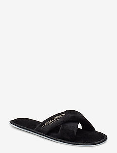HOME SLIPPERS - BLACK