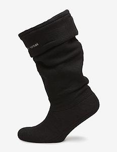 Fleece Sock - 0112 BLACK CREME