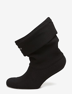 Fleece Sock - 001120 BLACK CREME