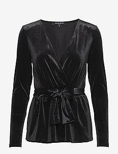 TALULA02 - blouses à manches longues - black