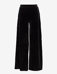 PANTS - pantalons larges - black