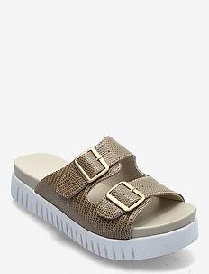 Sandals - płaskie sandały - fossil