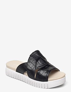 Sandals - płaskie sandały - black