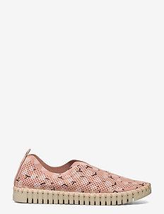 Flats - slipper - adobe rose