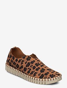 Flats - slip-on sneakers - chestnut