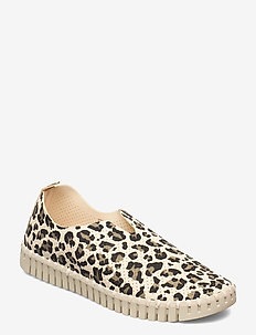 Flats - slip-on sneakers - milk creme