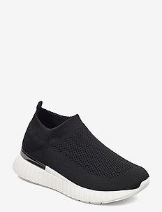 Sneakers - slip-on sneakers - black