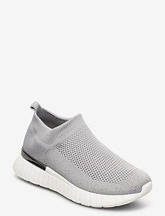 Sneakers - slip-on sneakers - grey