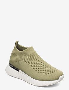 Sneakers - slip-on sneakers - moss