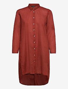 Shirt - tuniken - redwood
