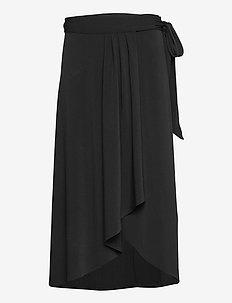 SKIRT - jupes midi - black