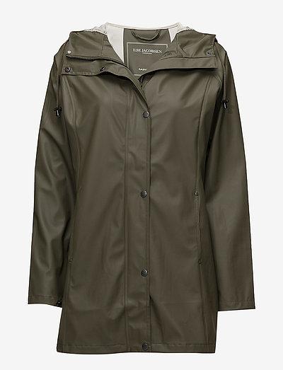 Raincoat - regnjakker - army