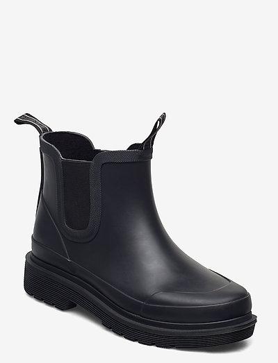 SHORT RUB - støvler - black