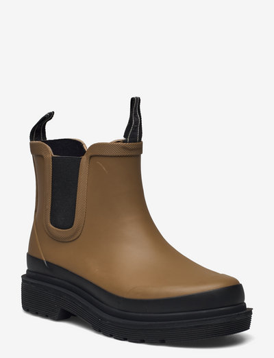 SHORT RUB - støvler - brown
