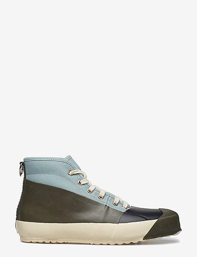 RUB SNEAKER - sneakersy wysokie - army