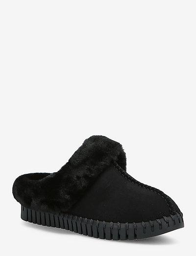SLIPPERS - tøfler - black